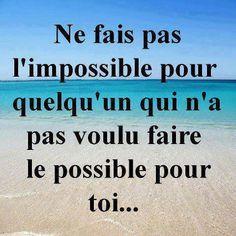 Ne fais pas l'impossible
