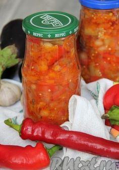 Рецепт салата из баклажа…