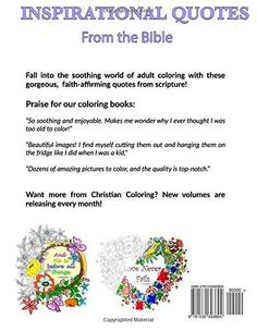 Christian Coloring Book: A Joyful Heart: Inspirational Quotes from the Bible (Volume 1)