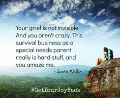 Grief is not invisible