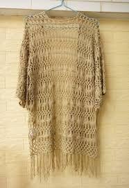 Resultado de imagem para kimono de trico como fazer