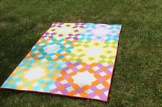 A Quilting Jewel: Criss Cross Quilt