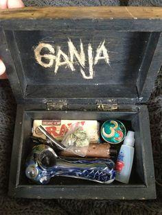 #Dope #Ganja #Box #Pipe #Lighter #Eyedrops #MYTRIPPYKIT #Papers #Visine #Weed #Grinder #Cute