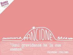 Il pancione di mamma. gravidanza. rosa. frasi celebri (•◡•) Tante altre idee cool per le mamme sul sito ❤ mammabanana.com ❤