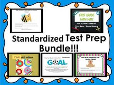 Standardized Test Prep Packet for Teaching Tips, Teaching Math, Math Resources, Math Activities, Cooperative Learning, Learning Games, Goal Setting For Students, Standardized Test, Teacher Helper