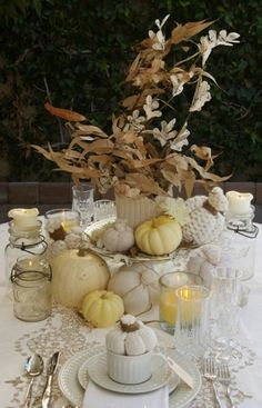 39956c366c2e7 24 Vintage And Shabby Chic Thanksgiving Décor Ideas