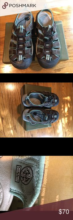 New! Keen Newport H2 sandal size 9.5 Brand new Keen hiking sandal. This is super versatile, breathable, durable, and it has a cover to protect your toes. Anti odor anatomical cushy footbed for comfort. Never worn (just tried on at the store). Color Slate Black/Canton Shoes Athletic Shoes