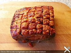 Krustenbraten Crusty roast, a very delicious recipe from the category Germany. Dutch Recipes, Pork Recipes, Crockpot Recipes, Vegetarian Recipes, Slow Cooking, Boeuf Stroganoff Rezept, Foods For Abs, Grilled Fish Tacos, Rabbit Food