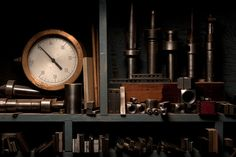 milling machine shelves by joseph o. holmes.