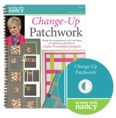 How to Sew Easy Four-Patch Quits on the on Sewing With Nancy TV Show, Change-Up Patchwork with Host Nancy Zieman Quilting Tips, Quilting Tutorials, Quilting Designs, Sewing Tutorials, Patchwork Quilting, Quilt Design, Sewing Ideas, 4 Patch Quilt, Quilt Blocks