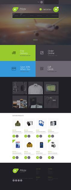44 best ZenCart templates images on Pinterest | Website template, E ...