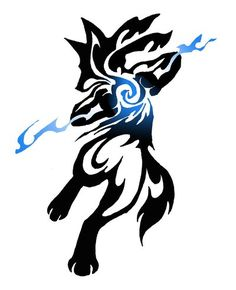 Lucario Tribal COMMISSION by Canyx.deviantart.com on @deviantART