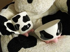 Cow mug and bowl!