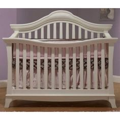 Sorelle Napa 4 in 1 Crib in French White Conversion available