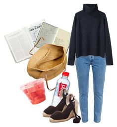 """""""spring evening"""" by laurapalmer0 ❤ liked on Polyvore featuring Moleskine, J.Crew, Vetements and Vanessa Bruno"""
