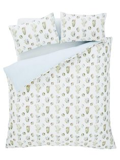 Catherine Lansfield Cactus Duvet Cover and Pillowcase Set | very.co.uk