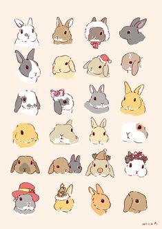 Embedded bunnies en 2019 drawings, cute drawings et bunny drawing. Cute Animal Drawings, Kawaii Drawings, Cute Drawings, Rabbit Drawing, Rabbit Art, Kawaii Bunny, Cute Bunny, Chibi Bunny, Lapin Art