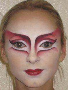 Cirque du Soleil, O, character Batau. Make up design by Natalie Gagne, applied by Kathleen Price.