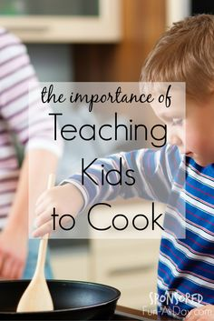 Teaching Kids to Cook - kids can learn so much when they're taught how to cook. Love that there's a kid-friendly recipe included (and made by a kid)! Sponsored by Barilla.