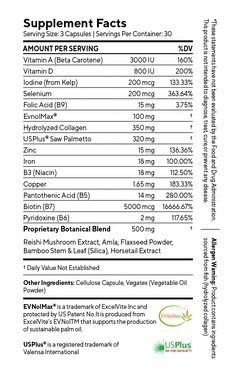 Natural Vitamins for Hair Growth - Clinically Studied Oil For Hair Loss, Stop Hair Loss, Prevent Hair Loss, Vitamins For Hair Loss, Natural Vitamins, Home Remedies For Hair, Hair Loss Remedies, Prom Hairstyles, Braided Hairstyles