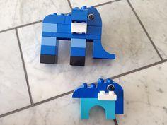 Elephant   Lego duplo instruction