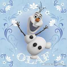 "Ooooh!!!! One of Olaf :) it'd be so cute! A movie about 2 sisters, and ""some people are worth melting for"""
