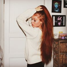 outfit - girl - hair - ginger