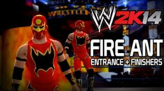 WWE 2K14 - Fire Ant Entrance + Finishers