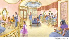 東京ディズニーリゾート,東京ディズニーランド,ワールドバザール,ビビディバビディブティック,店舗内装イメージ