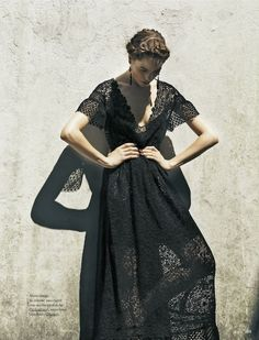 Beautiful black lace by Valentino
