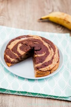 Veganer Bananenkuchen ohne Zucker