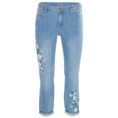 Poetry Shirley Embroidered Gilrfriend Denim Mikey, Beautiful Outfits, Bath And Body, Wide Leg, Poetry, Skinny Jeans, Legs, Denim, Clothes