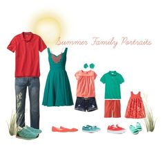 Summer Family Portraits by emibphotography on Polyvore featuring Bling Jewelry, Alexa Starr, Gap, Urban Pipeline, New Balance, Lacoste, Hollister Co., Nautica, Vans and Sperry #emiBphotography