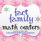 $ winter math centers covering fact families - three different activities that can be used in centers/tubs or for interventions