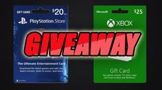 GIVEAWAY TIME!!! XBOX AND PSN GIFTCARD GIVEAWAY AT 400 SUBS!!!