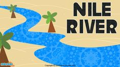 Nile River Facts & History - The #NileRiver is the #longestriver in Africa and the entire world. Read more facts about nile river. More GK facts for Kids, visit: http://mocomi.com/learn/general-knowledge/