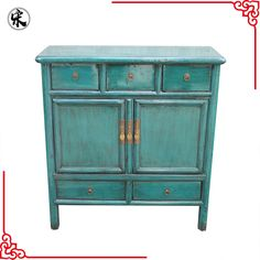 Zwarte Chinese Sidetable.Chinese Antique Reproduction Furniture