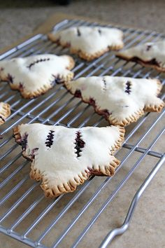 Mixed Berry Christmas Tree Hand Pies
