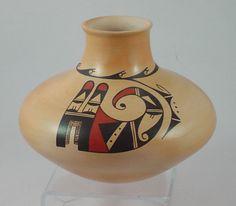 Dawn Navasie Feathers Hopi Pottery