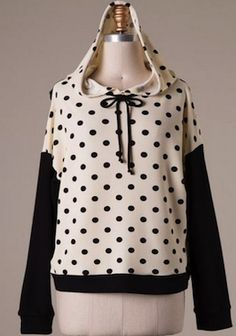 polka dot hoodie | SexyModest Boutique #SMBFAVES