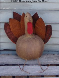 Free Primitive Turkey craft pattern @ http://www.patternmart.com/pattern/9682/Free+Prim+Turkey+Pattern+PM