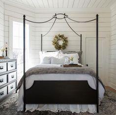 Magnolia Homes ~ Fixer Upper Magnolia Market, Magnolia Homes, Home Bedroom, Bedroom Decor, Farm Bedroom, Cottage Bedrooms, Canopy Bedroom, Dream Bedroom, Black Canopy Beds