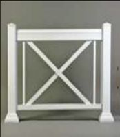 Get well finished Aluminum railings.