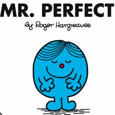 Mr. Perfect - Mr. Men Wiki. Chose this one for my man :)