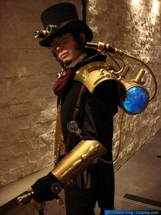 Steampunk guys costume