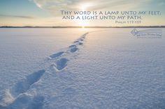 Thy word is a lamp u