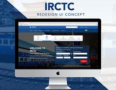 """Check out new work on my @Behance portfolio: """"IRCTC - Redesign UI Concept"""" http://be.net/gallery/50450363/IRCTC-Redesign-UI-Concept"""