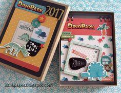 ÁLBUMES ATRAPAPEL Crate Paper, Album, T Rex, Embellishments, Coasters, Arts And Crafts, Aurora, Frame, Kids
