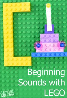 A beginning sound activity with LEGO from Growing Book by Book