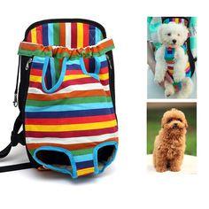Travel Pet Dog Cat Carrier Backpack Legs Out Front Style Pet Tote Bag Bag Pet Supplies Colorful Sac De Transport Chien Plus